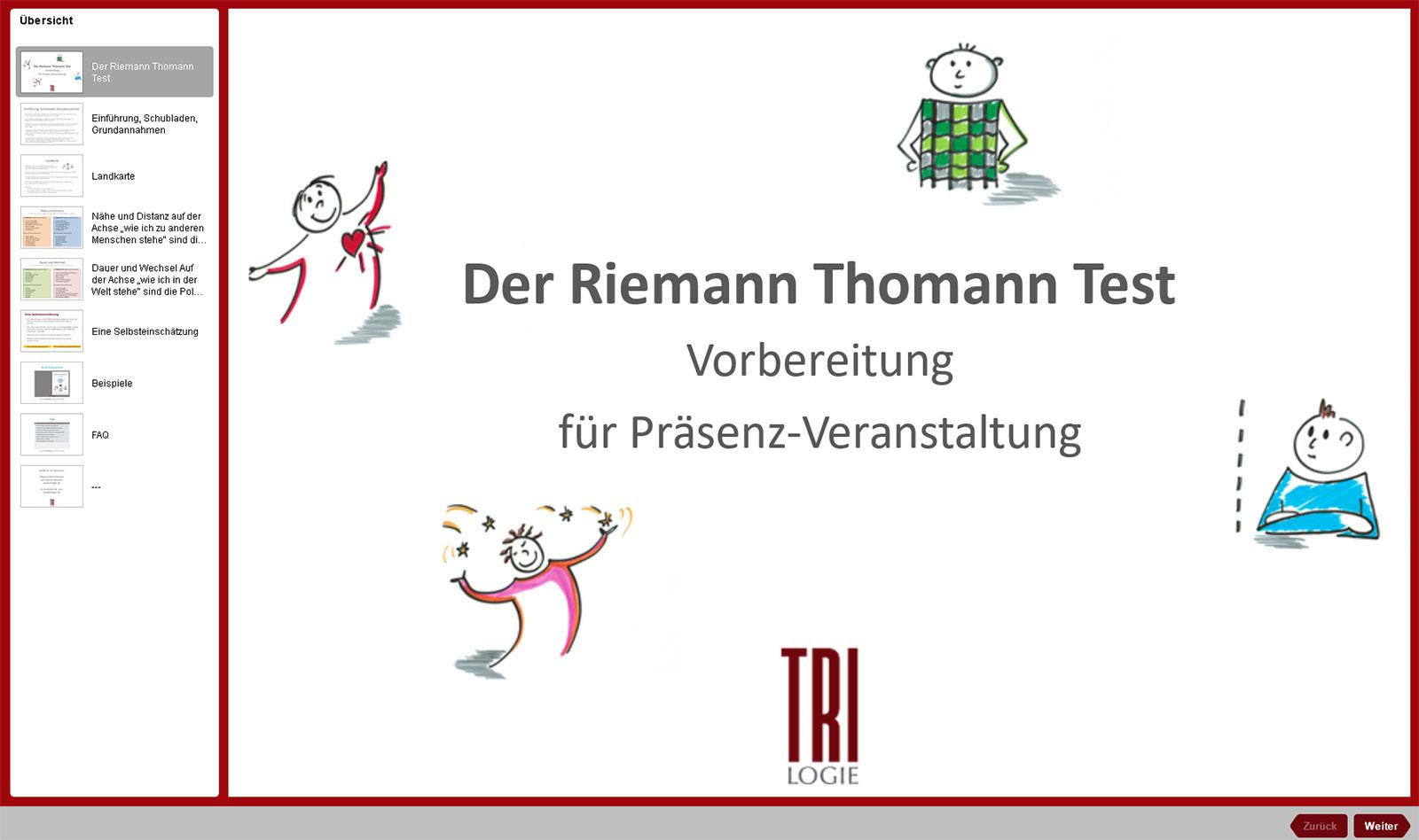 Beispiel riemann-thomann-modell Ein Kompass